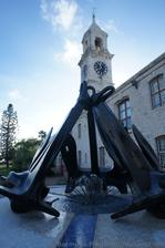 Anchor Fountain & View of Clocktower Mall Bermuda.jpg
