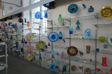 Colorful glass plates & sculptures for sale at Dockyard Glassworks Bermuda.jpg