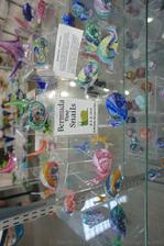Bermuda Snail Times figurines at Dockyard Glassworks Bermuda.jpg