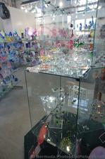 Glass Swans at Dockyard Glassworks Bermuda.jpg