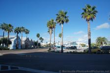 Parking area & shops at Bermuda Naval Dockyard.jpg