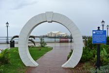 Make a Wish Moon Gate near King's Wharf & Royal Naval Dockyard Bermuda.jpg