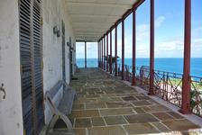 Balcony ocean view from Commissioner's House Bermuda Maritime Museum.jpg