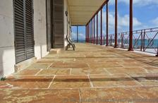 Floor of Balcony with ocean view at Commsioner's House Bermuda Maritime Museum.jpg