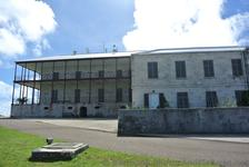Back of Exterior of Commissioner's House Bermuda Royal Navy Dockyard.jpg
