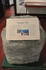 Portuguese Rock on display at Commsioner's House Bermuda Maritime Museum.jpg
