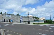 Fort Walls & view of Top of Commissioner's House in Bermuda.jpg