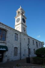 Tower to right of main entrance to Clocktower Mall Bermuda.jpg
