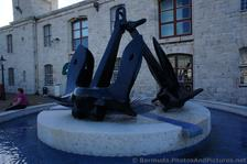 Clocktower Mall Anchor Fountain in Bermuda.jpg
